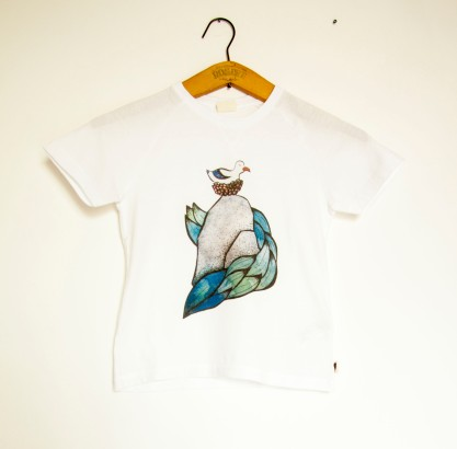 gabbiano baby t-shirt