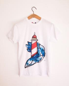 faro uomo t-shirt